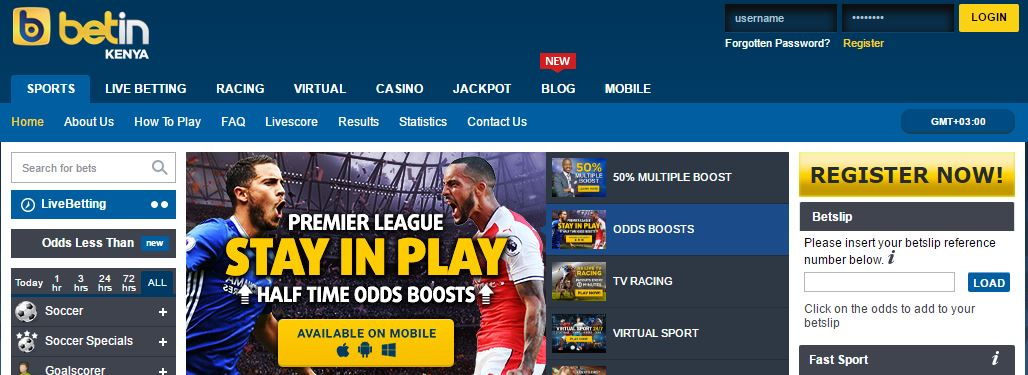 Betin 77 Live Betting Site